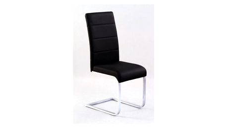 Kovová židle K85 černá