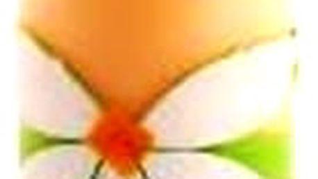 Nalaďte příjemnou atmosféru za dlouhých večerů s touto originální svíčkou s květinou.