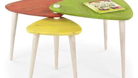 Konferenční stolek Corsica vícebarevná