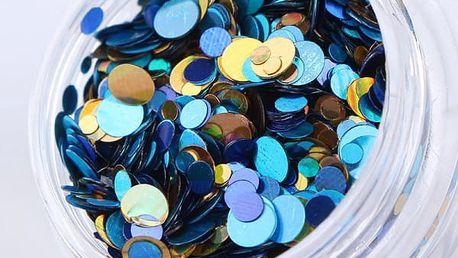 Puntíky k nalepení na umělé nehty - 11 variant