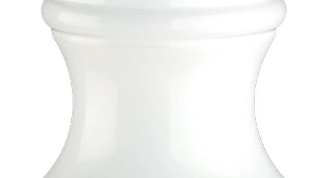 Mlýnek na pepř Berlin Zassenhaus bílý 12 cm