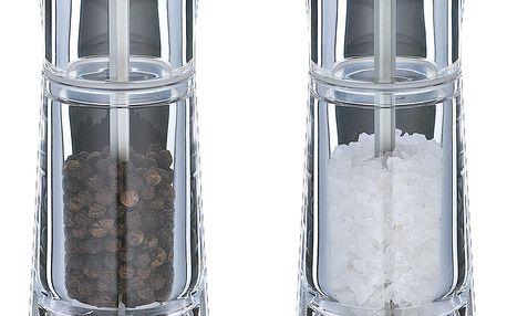 Sada mlýnků na pepř a sůl Genova Cilio 14 cm