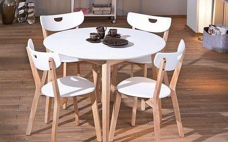Jídelní stůl Pepita bílá