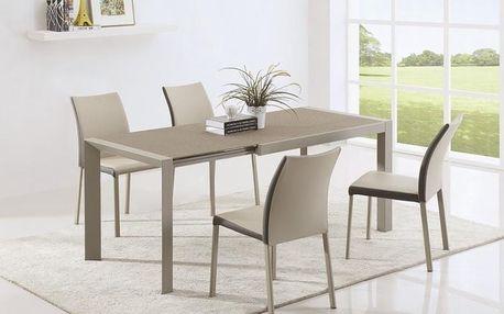 Skleněný rozkládací stůl Arabis 2