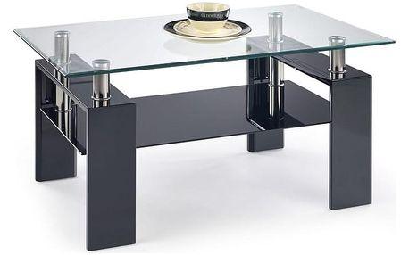 Konferenční stůl Diana H lakovaný černá
