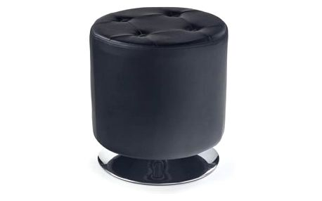 Taburet Dora černá