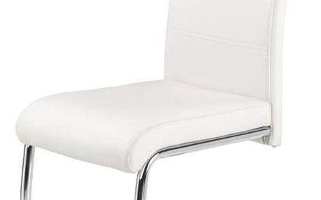 Jídelní židle K211 bílá
