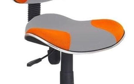 Dětská židle Flash 2 oranžová