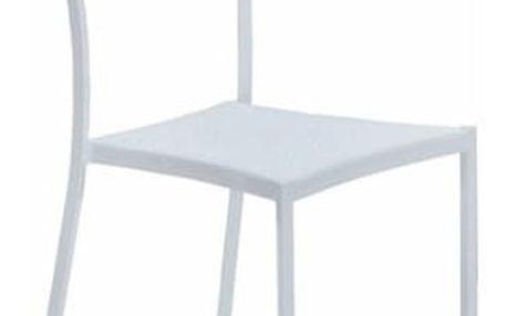 Jídelní židle K159 bílá
