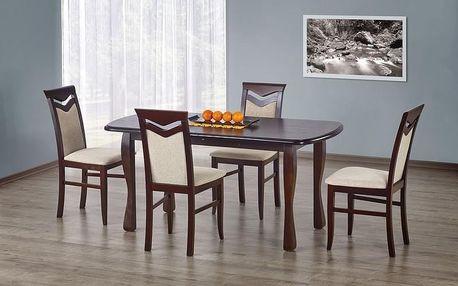 Dřevěný jídelní stůl Henryk tmavý ořech
