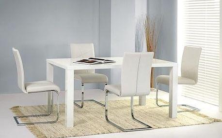 Jídelní stůl Ronald - 120 cm bílá