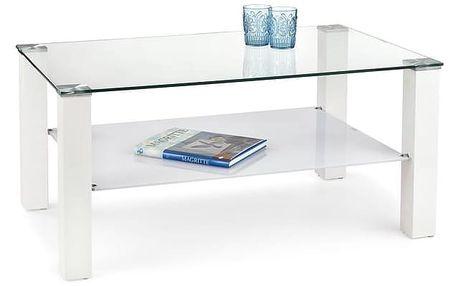 Konferenční stolek Ventura Law bílá