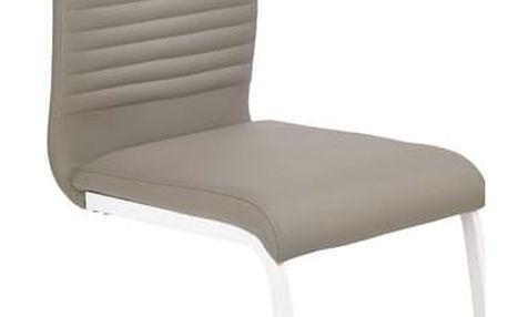 Kovová židle K185 cappuccino
