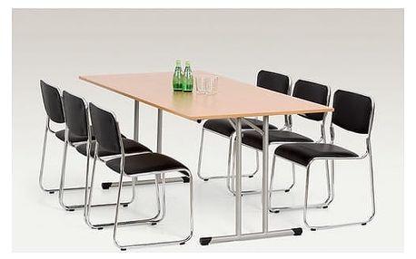Skládací stůl Gordon 90 x 180 cm olše