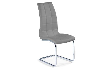 Kovová židle K147 šedá