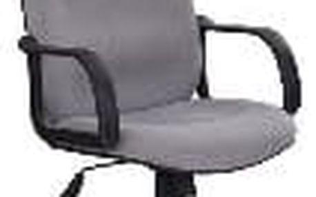 Kancelářská židle Teo světle šedá