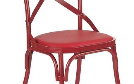 Jídelní židle K216 červená