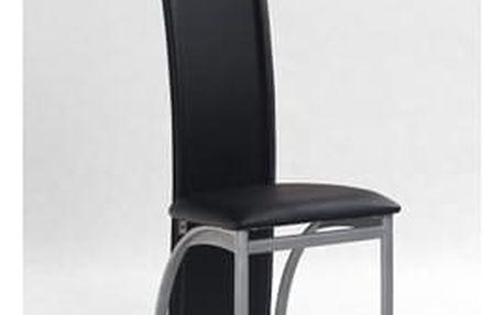 Kovová židle K94 černá