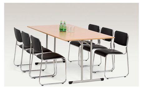 Skládací stůl Gordon 100 x 180 cm buk