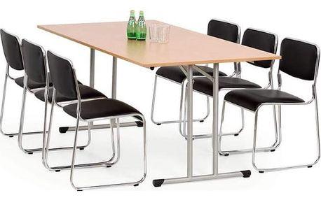Skládací stůl Gordon 100 x 180 cm olše