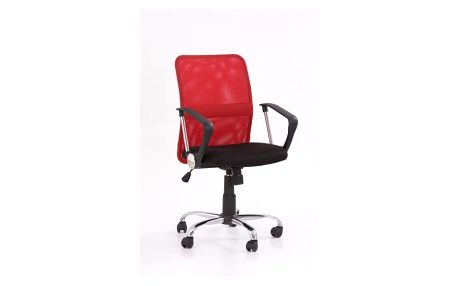 Kancelářská židle Tony červená