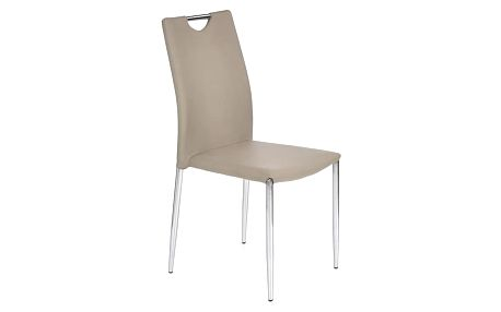 Kovová židle K196 cappuccino