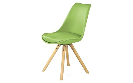 Jídelní židle K201 zelená