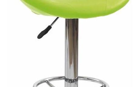 Barová židle H-15 tyrkysová