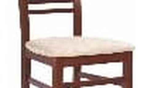 Dřevěná židle Gerard 6 antická třešeň