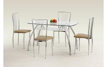 Skleněný stůl Corwin Bis