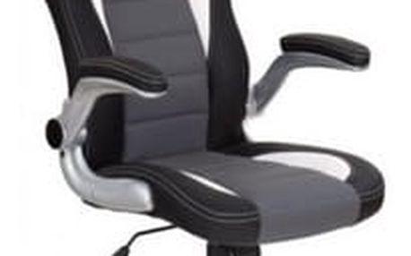Kancelářské křeslo Lotus černá - šedá
