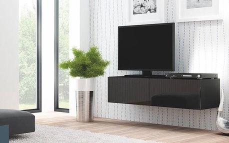 Televizní stolek Livo RTV-160W černá