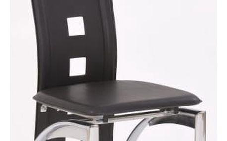 Kovová židle K4 černá