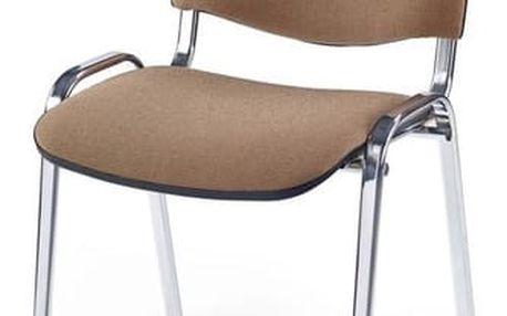 Kancelářská židle ISO C béžová
