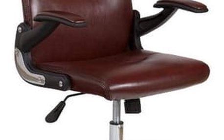 Kancelářská židle Neptun hnědá
