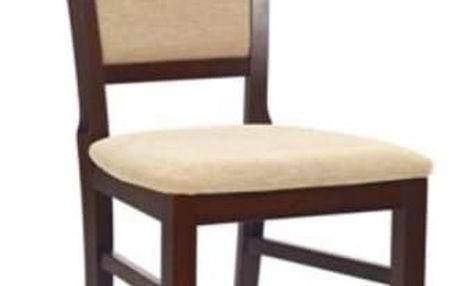 Dřevěná židle Jakub tmavý ořech