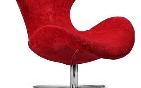 Relaxační křeslo Blazer červená