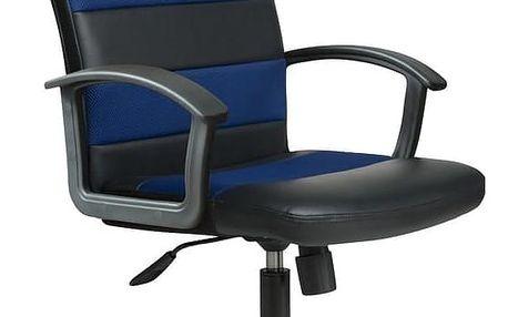 Kancelářské křeslo Ribis černo-modrá