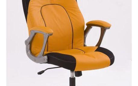 Kancelářské křeslo Viper oranžova-černá