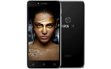 ALCATEL SHINE Lite, černá - 5080X-2HALE17