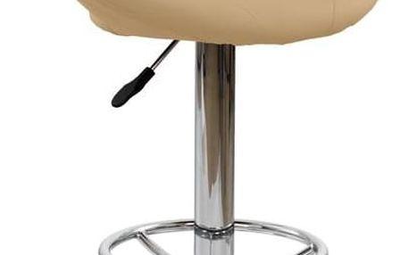 Barová židle H-15 krémová