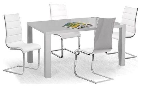 Jídelní stůl Ronald - 120 cm šedá
