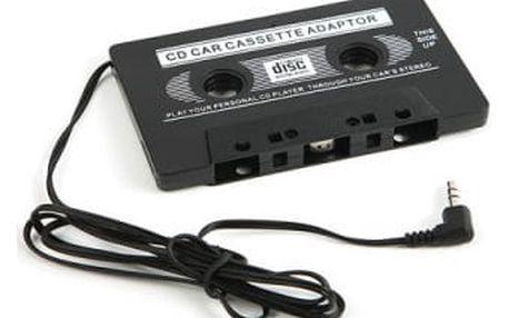 Kazetový adaptér na poslouchání hudby z telefonu v autě