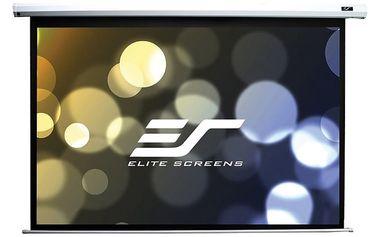 """Elite Screens plátno elektrické motorové 125"""" (317,5 cm)/ 16:9/ 155,7 x 276,9cm/ case bílý - ELECTRIC125XH"""