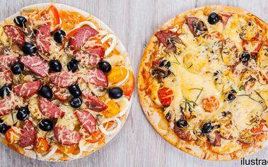 Pojďte ve dvou na pizzu: výběr ze 14 druhů