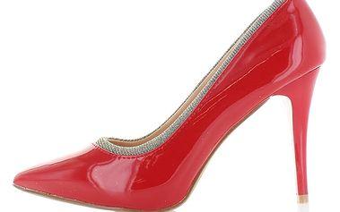 Červené lodičky Priscila