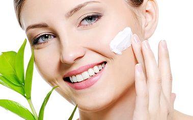 Kosmetické ošetření pleti kosmetikou Alcina, lehké denní líčení, ošetření laserovou kúrou.