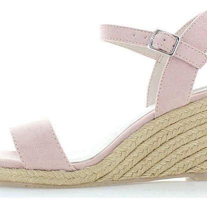 Světle růžové sandály Tamaris 28300