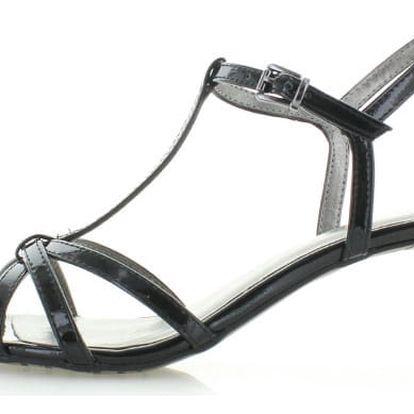 Černé sandály Tamaris 28329