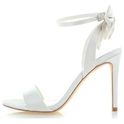 Smetanové sandály Menbur Talia